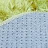 Morbuy Tapete Redondo Felpudos Alfombra Estera de Felpa 80CM/100CM Hogar Antideslizante Alfombras Piso Moqueta Mats Pad para Habitación Lavable Decorativo Suave Superficie (100cm, Blanco)